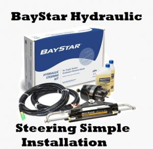 seastar baystar hydraulic steering kit